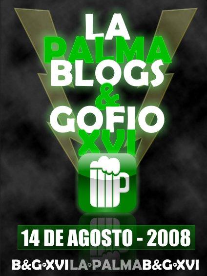 Blogs & Gofio XVI