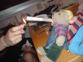 PASO 4: Fumarlo